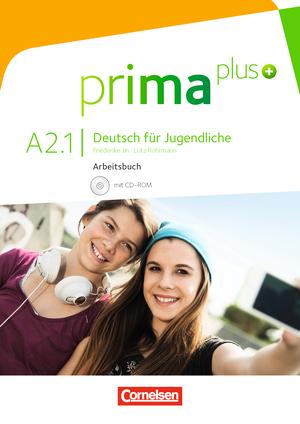 prima plus A2.1: Arbeitsbuch & CD-ROM (Βιβλίο ασκήσεων & CD-ROM)