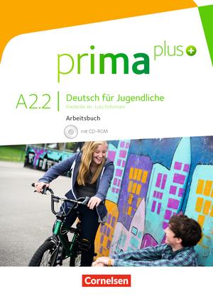 prima plus A2.2: Arbeitsbuch & CD-ROM (Βιβλίο ασκήσεων & CD-ROM)
