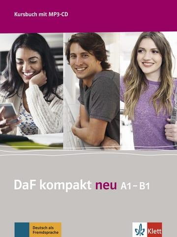 DaF kompakt A1-B1 neu: Kursbuch (mit Mp3-Cd)