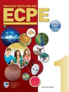 Practice Tests For The ECPE Book 1: Βιβλίο Καθηγητή Με 8 CDs (Revised 2021 Format)