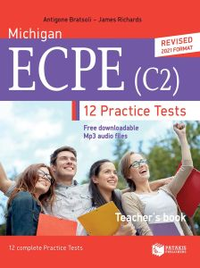 Michigan ECPE 12 Practice Tests (C2). Teacher's book (+ Audio Online) (Βιβλίο Καθηγητή) 2021