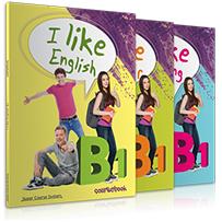 I Like English B1: Πακέτο βιβλίων Μαθητή (Student's book & Grammar & Writing & i-Βook)