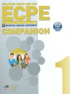 Practice Tests For The ECPE Book 1: Companion (Revised 2021 Format)