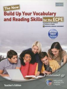 The New Build Up Your Vocabulary and Reading Skills for the ECPE - Teacher's Book (Revised 2021)