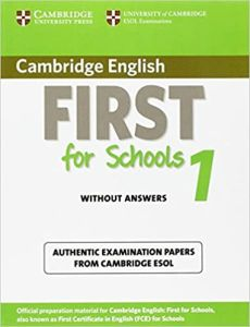 First for Schools 1 (Revised Exam 2015): Student's Book without answers