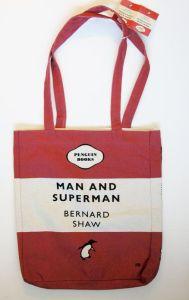 Υφασμάτινη Τσάντα Penguin Books - Man and Superman (Bernard Shaw)