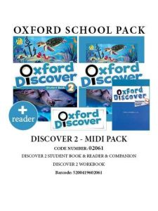 Oxford Discover 2 Midi Pack (Student's Book & WorkBook & Companion & Reader) (1st Edition)