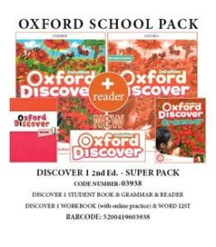 Oxford Discover 1 Super Pack C (Student's Book & Workbook (& Online Practice) & Grammar & Wordlist & Reader) (2nd Edition)