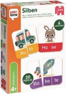 Ich lerne: Silben (Παιχνίδι puzzle συλλαβών για παιδιά 4+)