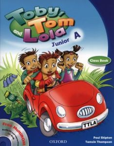 Toby Tom And Lola Junior A: ClassBook & Reader & Cd Rom (Βιβλίο μαθητή)