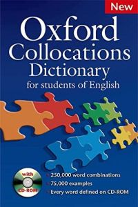 Oxford Collocations Dictionary (& Cd-Rom)