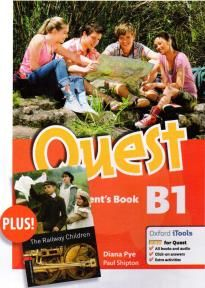 Quest B1 Student's Book & Reader (Obw Library 3: The Railway Children)