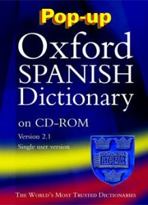 Pop-up Oxford Spanish Dictionary. CD-ROM