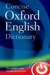 Concise Oxford English Dictionary (12th Edition) (HardBack)