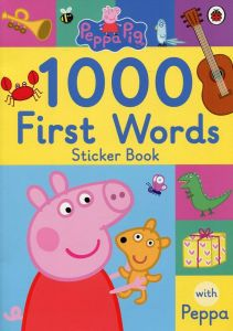 Peppa Pig: 1000 First Words (Sticker Book)
