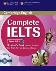 Complete IELTS Bands 5-6.5 (B2): Student's Book without Answers with Cd-Rom