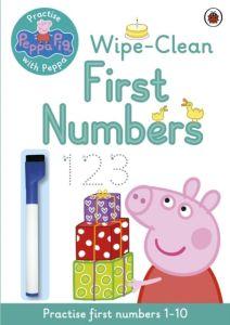 Peppa Pig:Wipe-Clean First Numbers