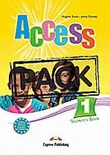 Access 1: Student's Pack: Student's Book, Grammar Book Greek Edition & iebook
