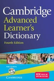 Cambridge Advanced Learner's Dictionary (+Cd Rom)(4th Edition) Softcover