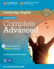 Complete Advanced: Student's Book (2nd Edition)