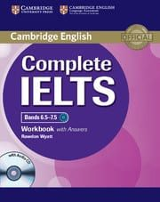 Complete IELTS Bands 6.5-7.5 (C1): Workbook with answers with Audio Cd