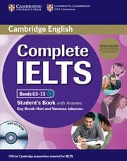 Complete IELTS Bands 6.5-7.5 (C1): Student's book pack (Student's Book with answers and cd-rom & Audio Cd's)