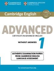 Cambridge Certificate In Advanced English 1: Student's Book without answers