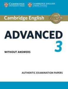 Cambridge English Advanced 3: Student's Book without Answers