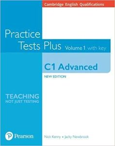 Practice Tests plus Volume 1 C1 Advanced: Book with online resources and Key (Με λύσεις)