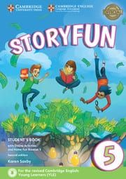 Storyfun 5 for Flyers: Student's Book (+ Home Fun Booklet & Online Activities) (For Revised Exam From 2018) 2nd Edition