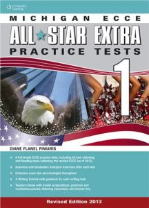 Michigan ECCE All Star Extra 1 Practice Tests (2013). Student's book & Glossary