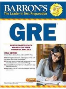 Barron's: GRE with online practice tests (2nd Edition)