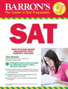 Barron's SAT (29th Edition): with Bonus Online Tests (Barron's Test Prep)