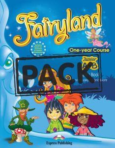 Fairyland Junior A+B One Year Course (Power Pack): Student's Book(+Alpabet Booklet), Activity Book, Vocabulary & Grammar, iebook