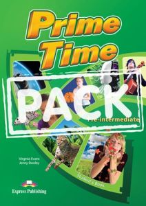 Prime Time Pre-Intermediate (Power Pack). Student's Book, WorkBook & Grammar, Companion, I-EBook