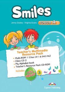 Smiles Junior A: Teacher's Multimedia Resource Pack (multi-ROM 1 (Class Audio CD 1 / DVD Video PAL), Class Audio CD 2, My Alphab
