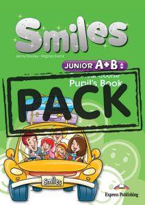 Smiles Junior A+B: Pupils Pack (Pupil/s Book, Alphabet Book, Pupil's Audio CD, DVD Video PAL, ieBook, Let's celebrate! 3, 4 & Za