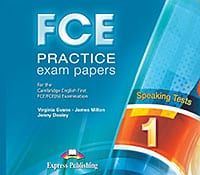 FCE Practice Exam Papers 1: Speaking Audio CDs (set of 2) - Revised for 2015
