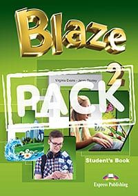 Blaze 2: Power Pack  (Student/s Book, Workbook & Companion, Grammar Book - Greek Edition, Presentation Skills & Writing Skills,