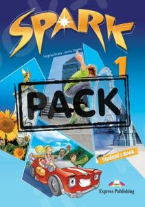 Spark 1 (Power Pack 1): Student's Book, Workbook with  DigiBook App., Grammar Book , Companion, Presentation Skills, Let's Celeb
