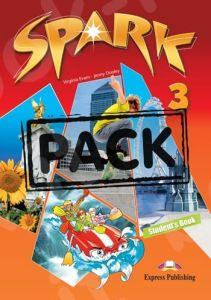 Spark 3 (Power Pack 1): Student's Book, Workbook with DigiBook App.,Companion, Grammar, The Age Of Dinosaurs, Presentation skill