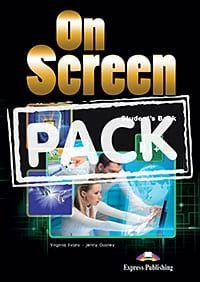 On Screen B1+ : Power Pack (Student's Book, Workbook & Grammar, Companion, It's Grammar Time 4, Writing Βοοκ)