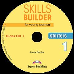 Skills Builder  Starters 1. Class Cds (Set Of 2)  (New Format 2018)