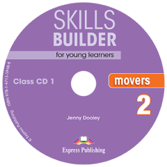 Skills Builder  Movers 2. Class Cds (Set Of 2) (New Format 2018)