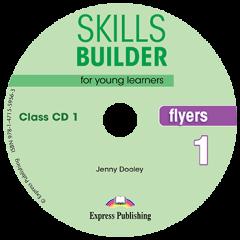 Skills Builder  Flyers 1. Class Cds (Set Of 2)  (New Format 2018)