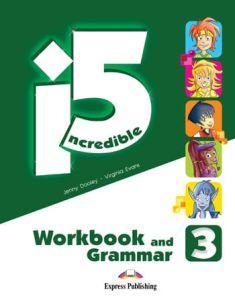 Incredible 5 3: Workbook & Grammar Book with Digibook App.