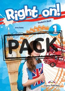Right on 1 : Jumbo Pack (Student's book , Workbook (With DigiBook App), Companion, Grammar Book (With DigiBook App.), iebook, No