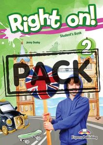 Right On 2 : Jumbo Pack  (Student's Book, Workbook, Companion, Grammar (Greek Edition), iebook, Welcome to the UK)