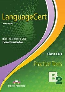 Language Cert ESOL B2 Communicator:  Class Audio Cd's (Προσοχή μονο ακουστικο υλικό)