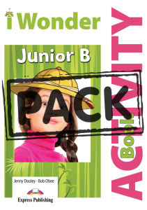I Wonder Junior Β: Activity Book (with Digibooks App)